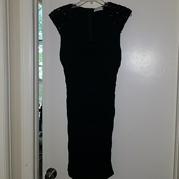 Calvin Klein Dresses Black Evening Dress Poshmark